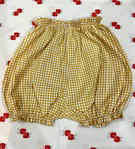 Vichy Bloomers / Yellow