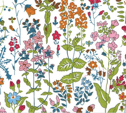 Liberty Of London Organics/ Field Flowers Multi