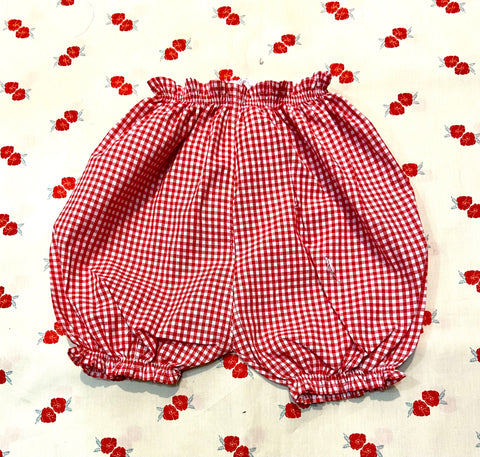 Vichy Bloomers / Red