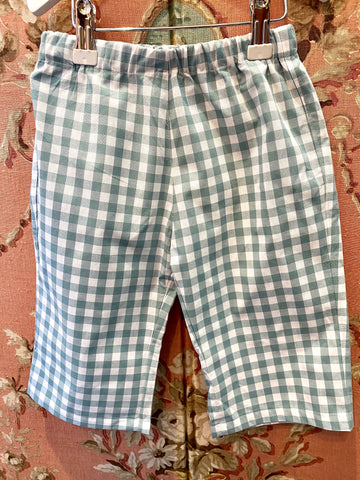 Capri Bukser/ Old Green Check