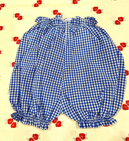 Vichy Bloomers / Blue