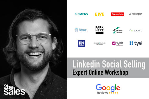 1/2-Tages Linkedin Social Selling Expert ONLINE Workshop