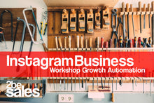 Laden Sie das Bild in den Galerie-Viewer, 1/2-Tages Instagram Automation Business Workshop