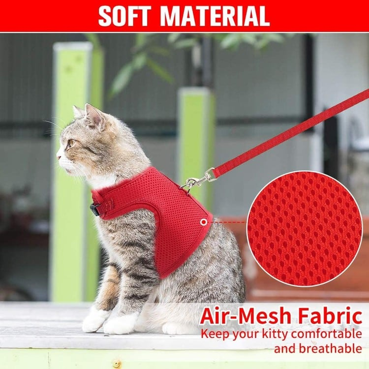 Cat Harness and Leash Set-Escape Proof