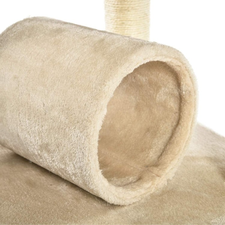 Cat Tree With Tunnel, Scratching Posts and Platforms, X-Large