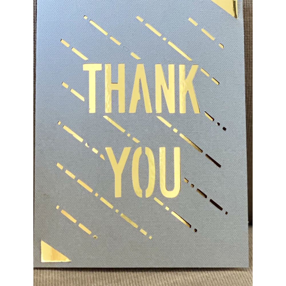 Thank You-Gold Foil - FullyFeline