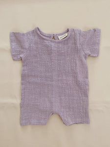 Clyde Playsuit - Lilac