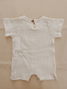 Clyde Playsuit - Vanilla