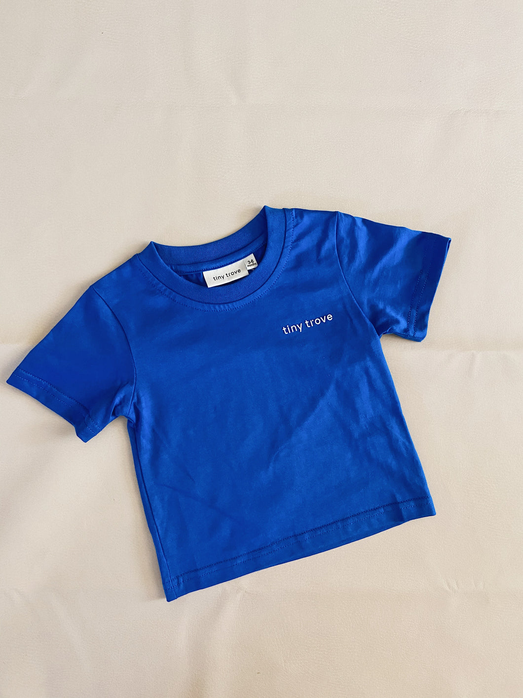 Elm 3D Logo Tee - Royal Blue