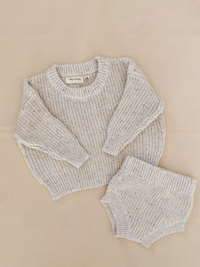 Emmi Sprinkle Knit Set - Butter