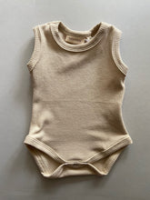 Load image into Gallery viewer, Cali Waffle Bodysuit - Oat