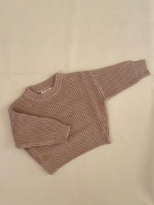 Clayton Knit - Almond