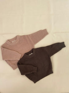 Clayton Knit Jumper - Almond