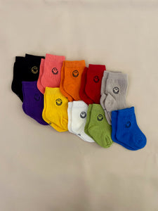 Face Socks - Black