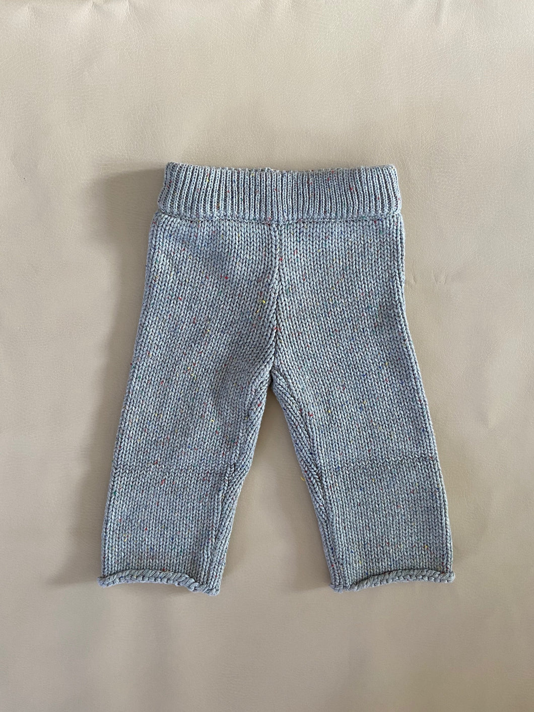 Peppa Sprinkle Knit Pant - Grey