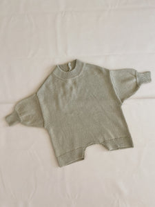 Olsen Knit Playsuit - Sage
