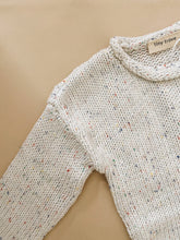 Load image into Gallery viewer, Peppa Sprinkle Knit Jumper - Pearl
