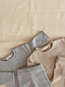 Peppa Sprinkle Knit Jumper - Grey