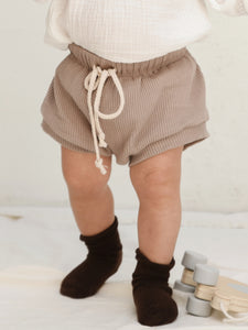 Wategos Ribbed Shorts - Taupe
