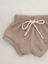 Load image into Gallery viewer, Wategos Ribbed Shorts - Taupe