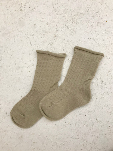 Ribbed Socks- Pistachio