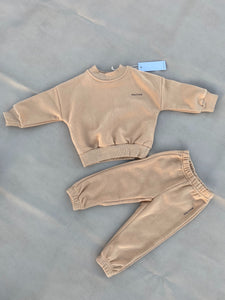 Woodie Logo Tracksuit - Fawn