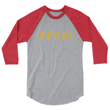 Load image into Gallery viewer, Oppai 3/4 sleeve raglan shirt