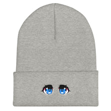 Load image into Gallery viewer, Love Eyes Cuffed Beanie