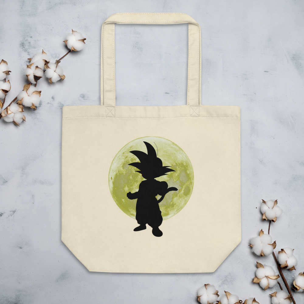 Kid Goku Eco Tote Bag