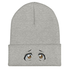 Load image into Gallery viewer, Scared Eyes Cuffed Beanie
