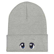 Load image into Gallery viewer, Dazed Eyes Cuffed Beanie