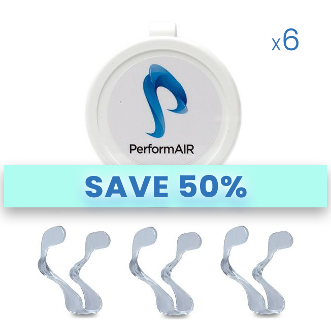 PerformAIR Nasal Dilators - REFILL BUNDLE - BUY 4 / Get 2 FREE + Free Shipping