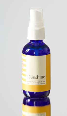 Sunshine Essential Oil Body Spray