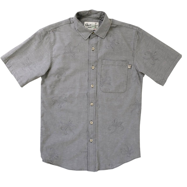 Manele Spider Lily - Grey Chambray - NEW!