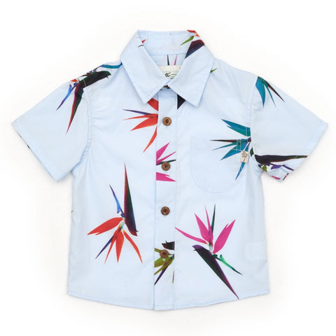 Kids Bird of Paradise Blue - FATHER'S DAY RESTOCK