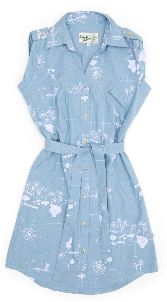 Shirt Dress Navigaiton - Chambray