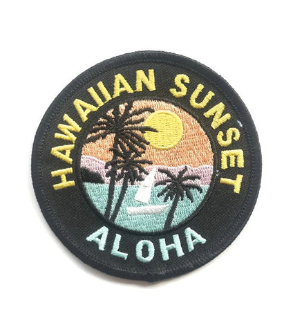 HAWAII SUNSET PATCH