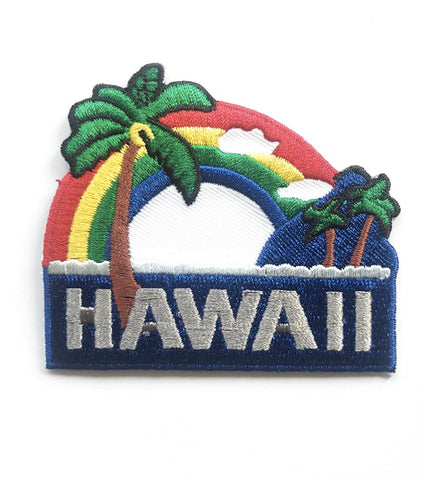 HAWAII RAINBOW PATCH