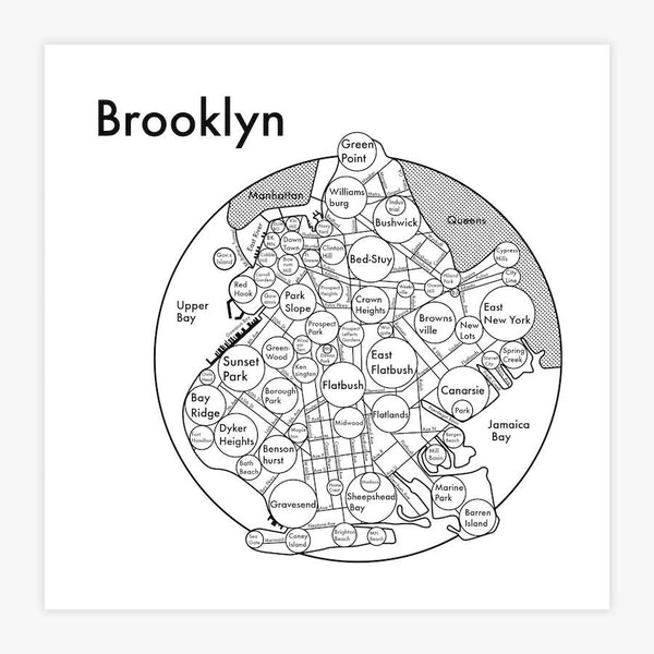Brooklyn Letterpress Print
