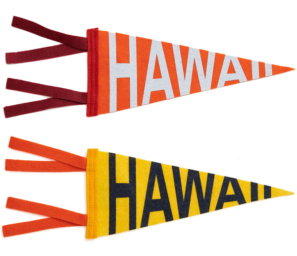 SMALL PENNANT V2 - HAWAII