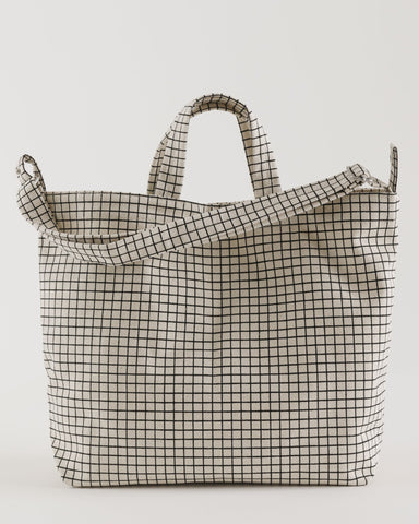 Horizontal Duck Bag - Grid