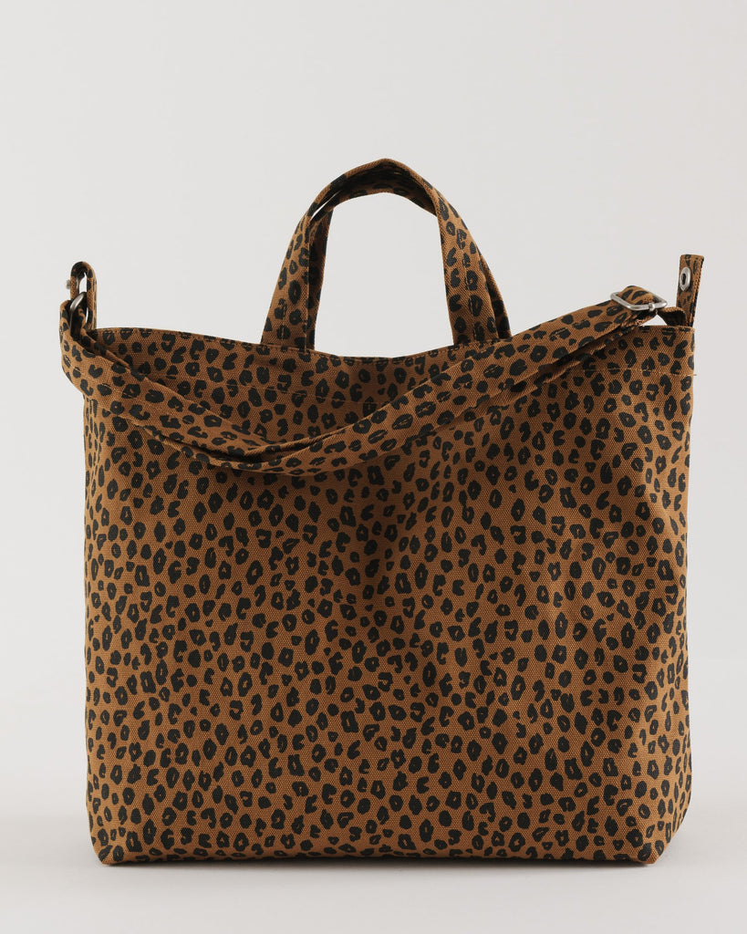 Horizontal Duck Bag - Nutmeg Leopard