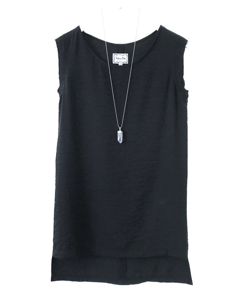 Crepe City Dress Black