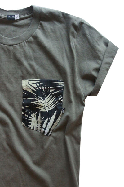 Aloha Tee - Jungle Fever Olive