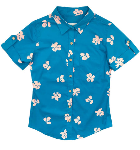 Princeville Hibiscus - Ladies Aloha - NEW!