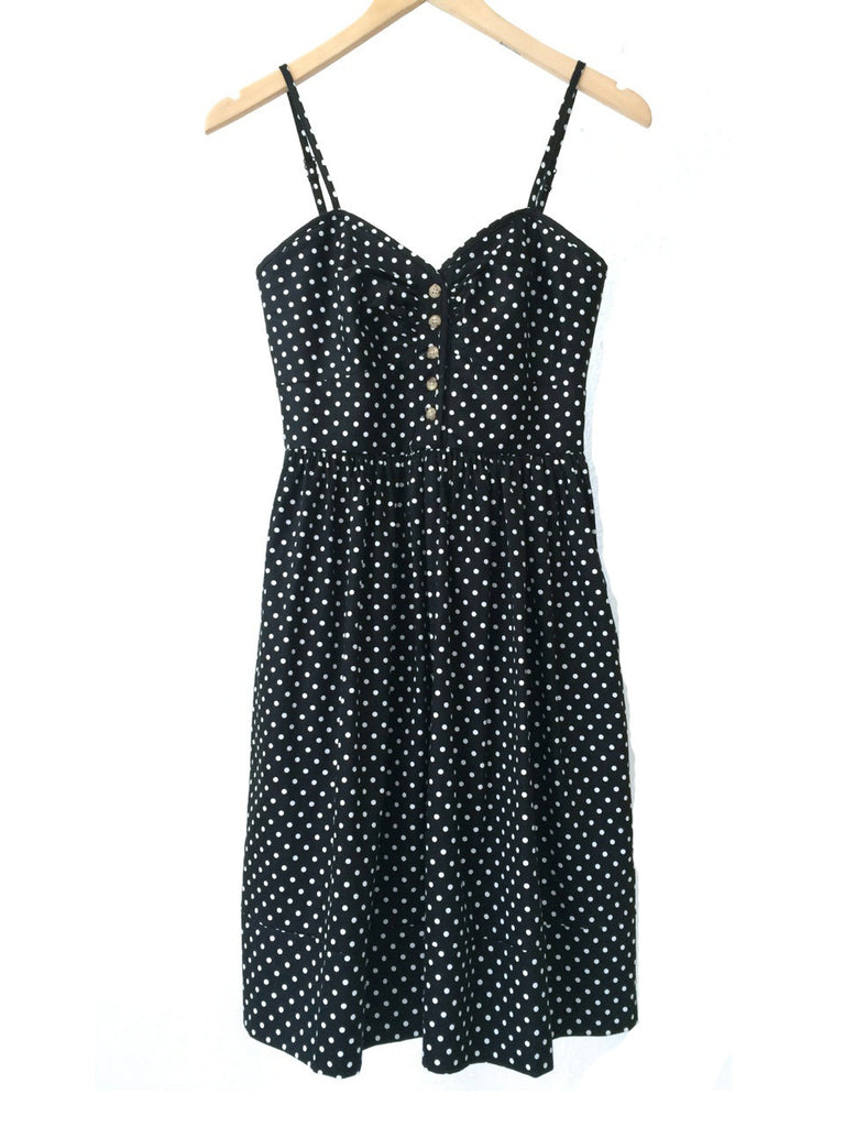 Joe - Polka Dot Black