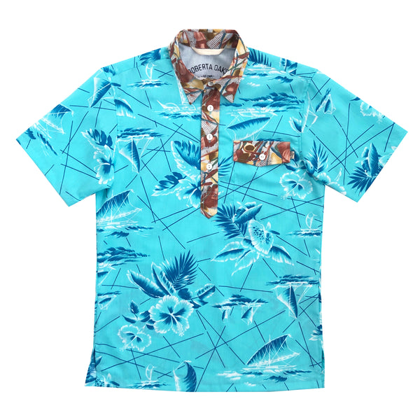 South Seas Pullover Aqua - SIZE S ONLY