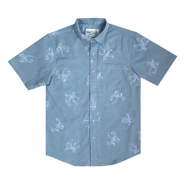 Manele Spider Lily - Blue Chambray - NEW!
