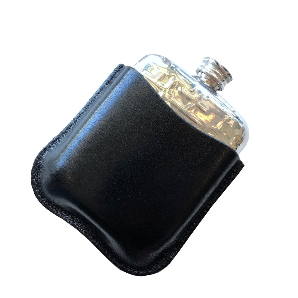 Metropolitian Flask - 4 oz. + Leather Case