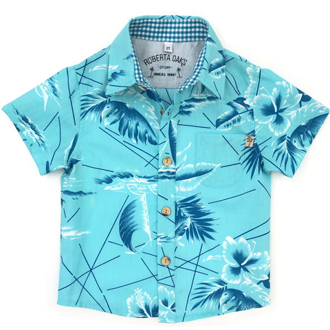 Kids South Seas Aqua- SIZE 2T ONLY